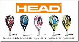 Head paddle tennis rackets