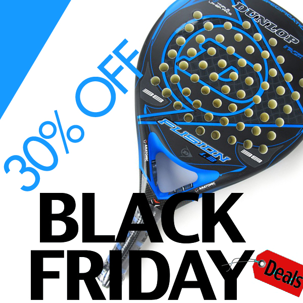 padel racquets black friday