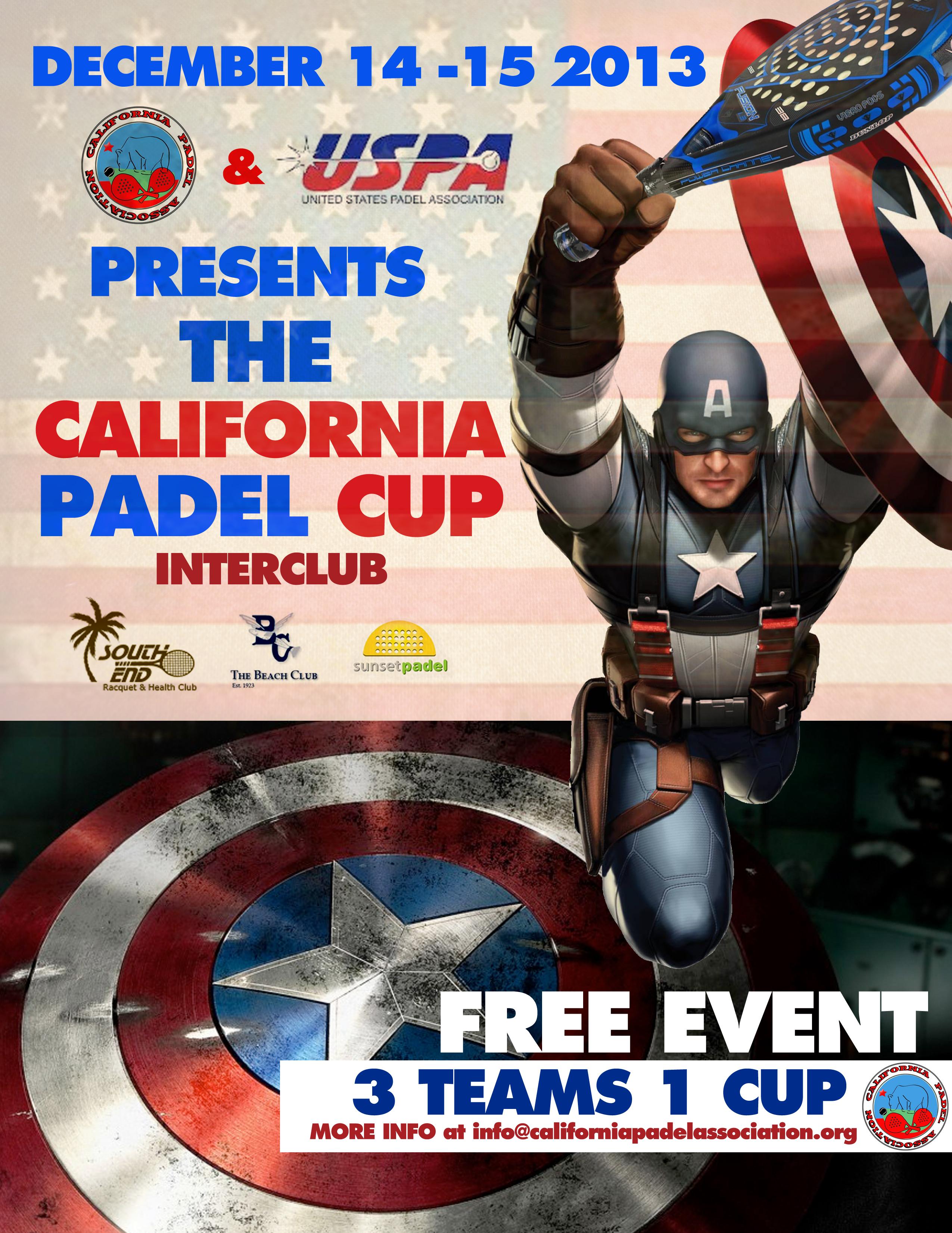 CALIFORNIA CUP PADELBOX