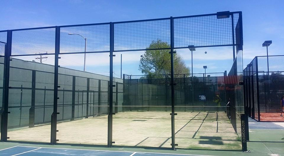 PADEL COURTS PADELBOX LOS ANGELES